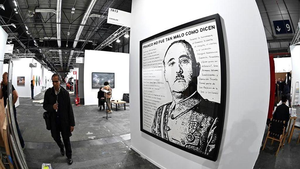 La obra más polémica de ARCO: 'Franco no era tan malo como dicen'