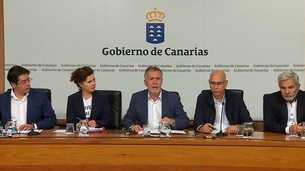 Rueda de prensa en Canarias