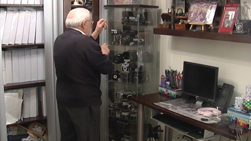 """Gasán, primer fotógrafo de Triana: """"Tengo más de 15 millones de fotografías"""""""