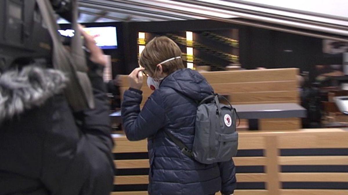 Ausencia de controles  por coronavirus  a los turistas españoles procedentes de Italia.