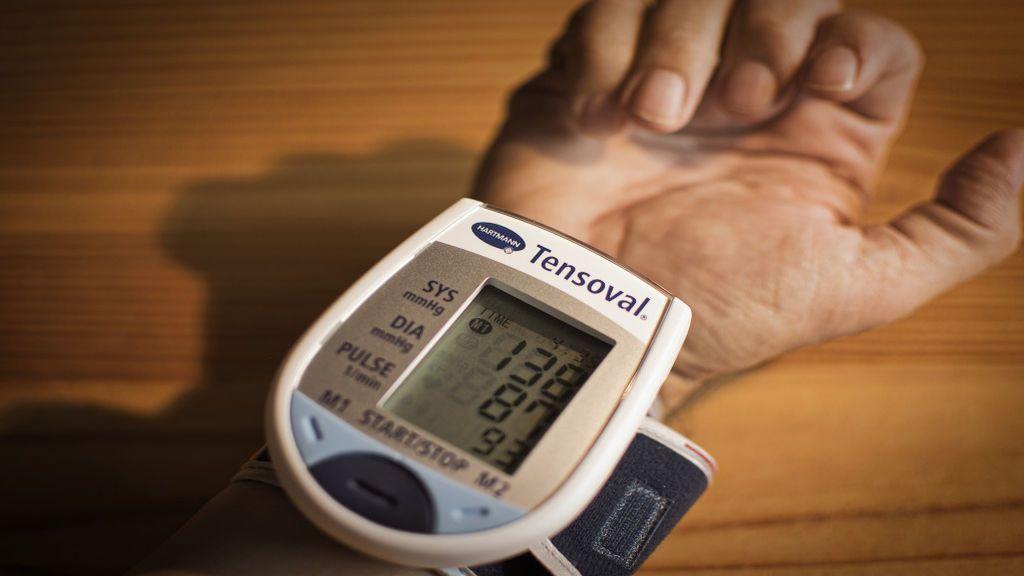Con el tensiómetro puedes ver el nivel de tensión arterial
