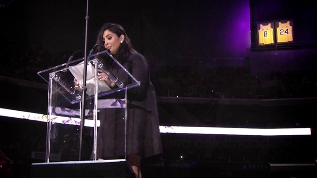 El discurso de Vanessa Bryant