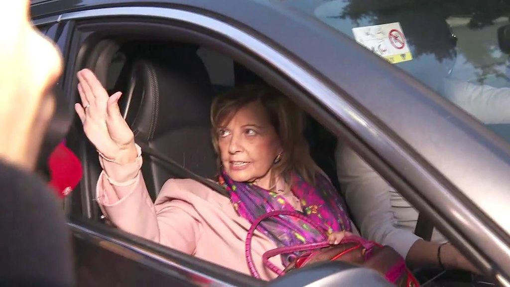 María Teresa Campos, muy cabreada con los medios al preguntarle por la mudanza de Edmundo Arrocet