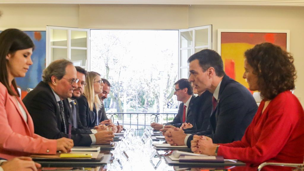 La mesa de diálogo del Gobierno y  de diálogo se reunirá cada mes
