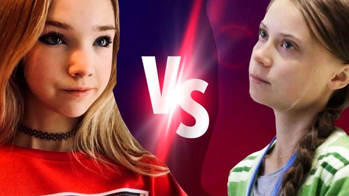 Naomi Seibt vs Greta Thunberg