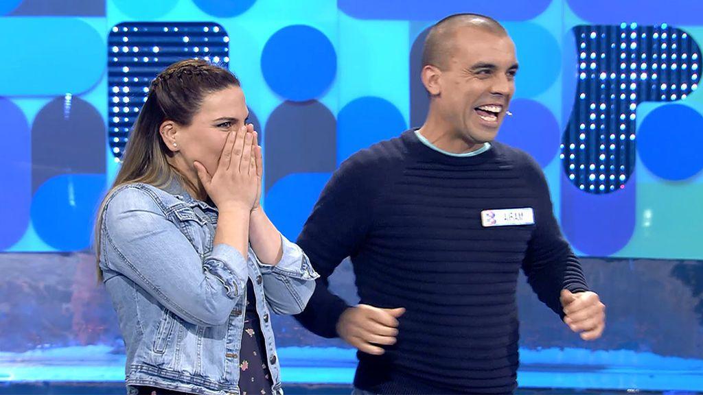María y Airam se la juegan a lo grande y se llevan 10.000 euros