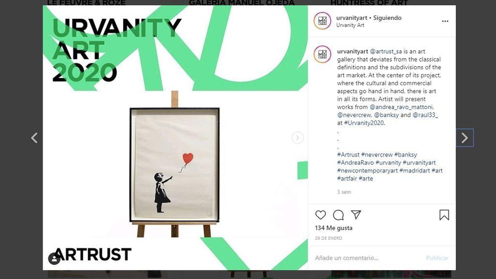 Una obra de Banksy