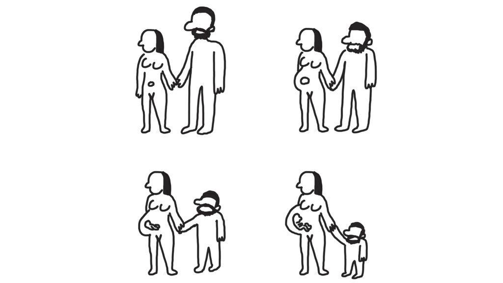 La inseguridad e inmadurez del hombre en la paternidad