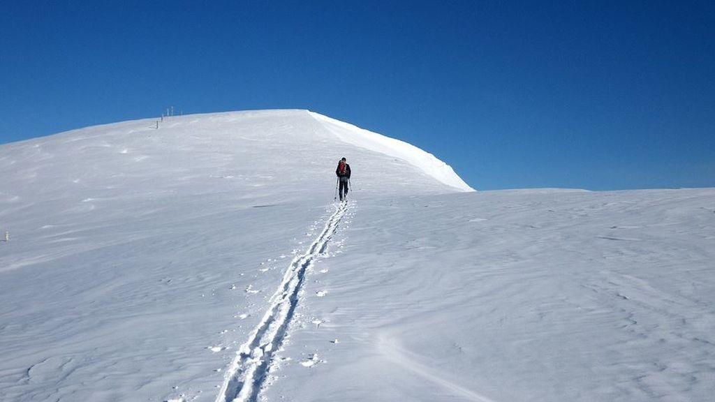 Últimas nevadas importantes de febrero: el norte se viste de blanco