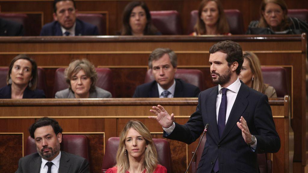 El PP anuncia que tomará todas las medidas para anular las cesiones de Sánchez al independentismo