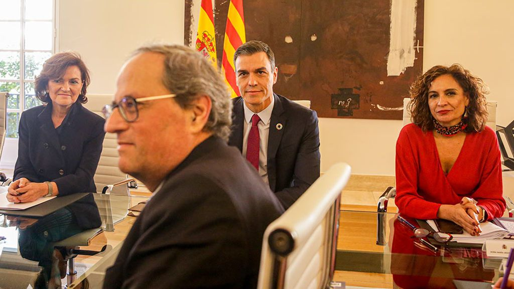 El Gobierno asegura que ha transmitido a Torra que no comparte el derecho de autodeterminación