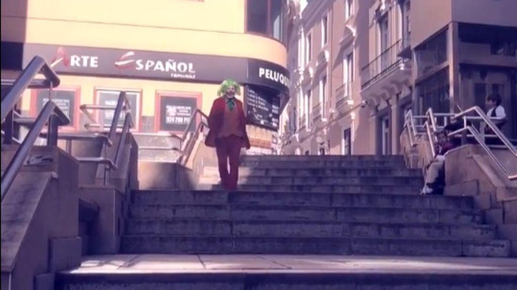 Las escaleras del 'Joker' de Badajoz