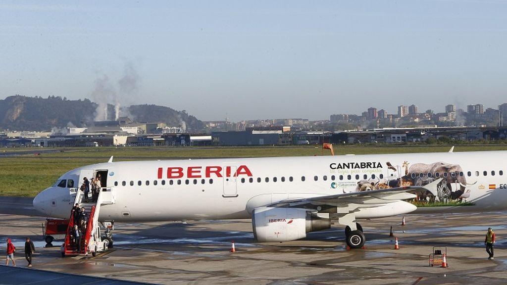 Iberia cancela sus vuelos a Italia y Japón