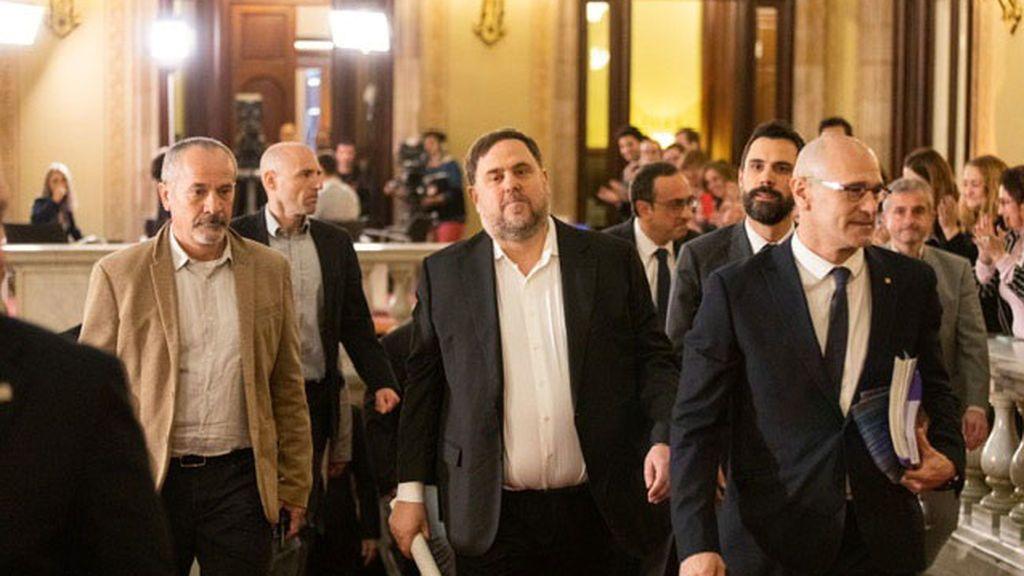 Junqueras y Romeva saldrán de la cárcel tres días por semana