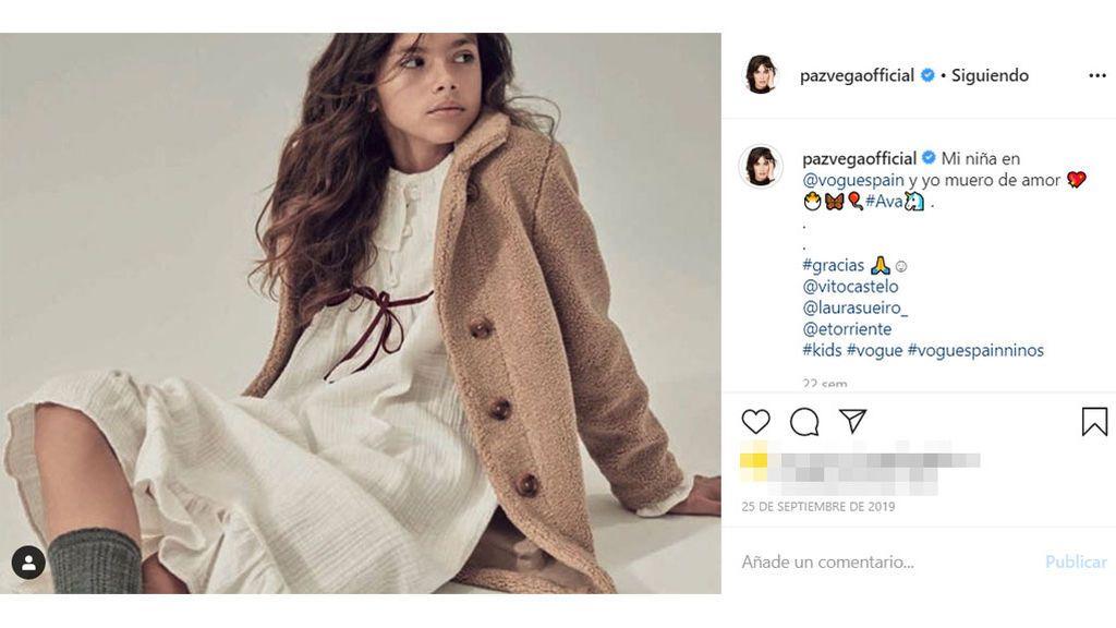La sesión de fotos de Ava Salazar para Vogue
