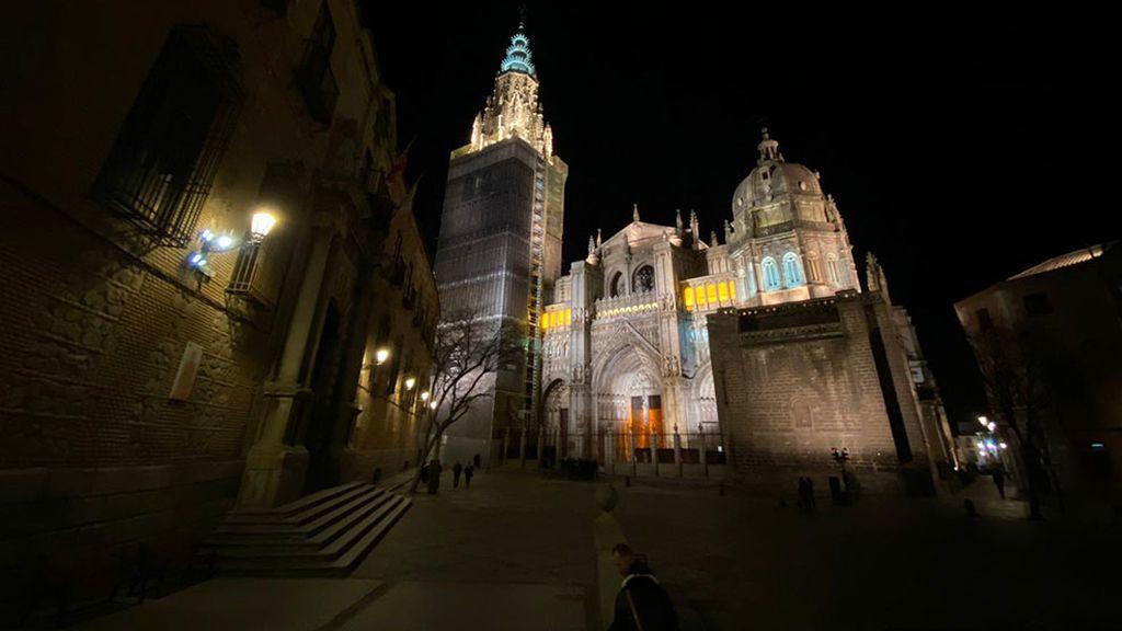 Vista nocturna de Toledo
