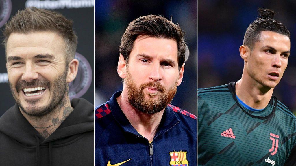 """La promesa de David Beckham a Messi y a Cristiano para fichar por el Inter de Miami: """"Sería genial"""""""