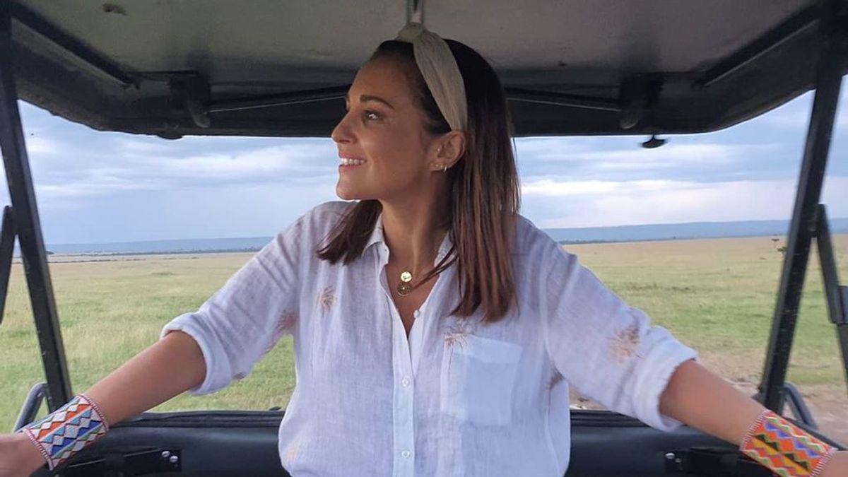 """Paula Echevarría responde a las críticas por maquillarse en África: """"Cómo podrá ser que te fijes en eso"""""""