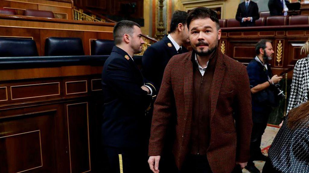 """ERC acusa de """"deslealtad"""" a su socio de Junts per Catalunya por votar en contra de la senda de estabilidad"""