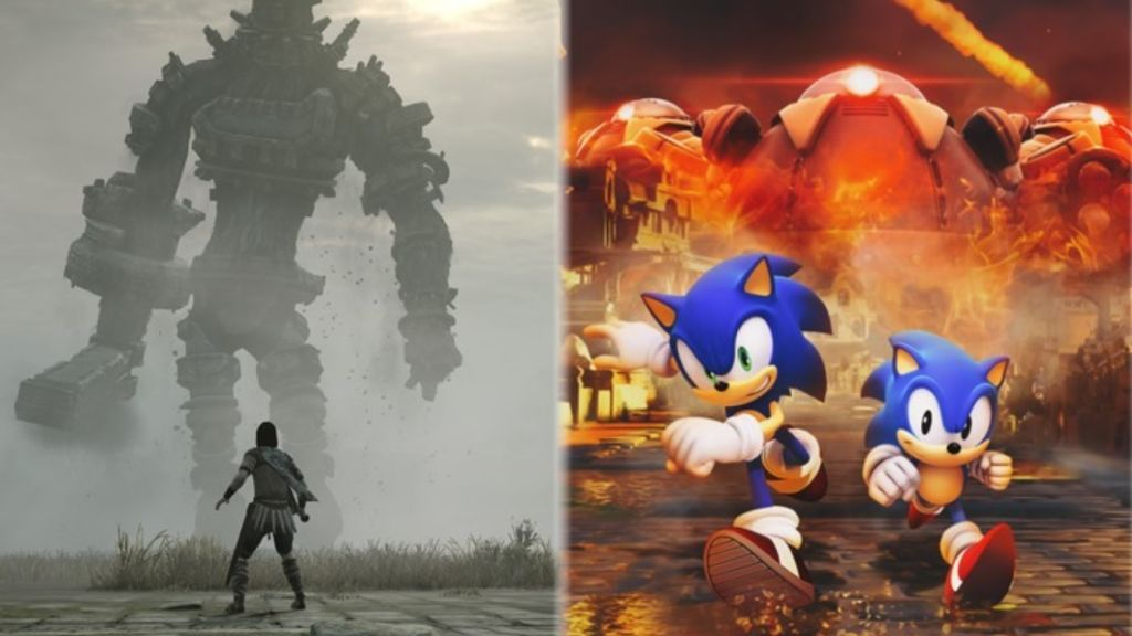 PS Plus: Shadow of the Colossus y Sonic Forces