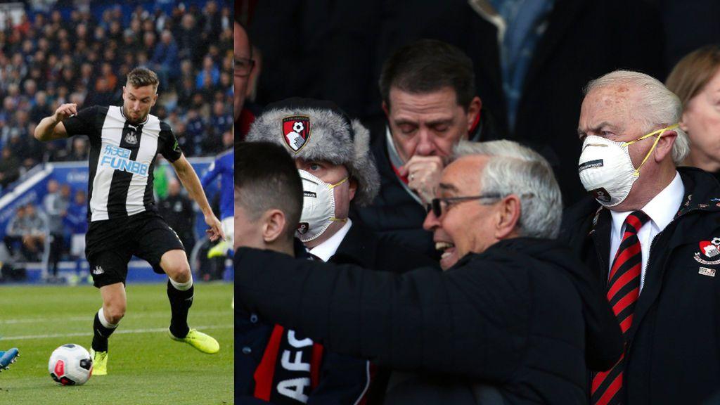 La alarma por el coronavirus se instala en el fútbol: el Newcastle prohíbe saludarse para evitar el contagio