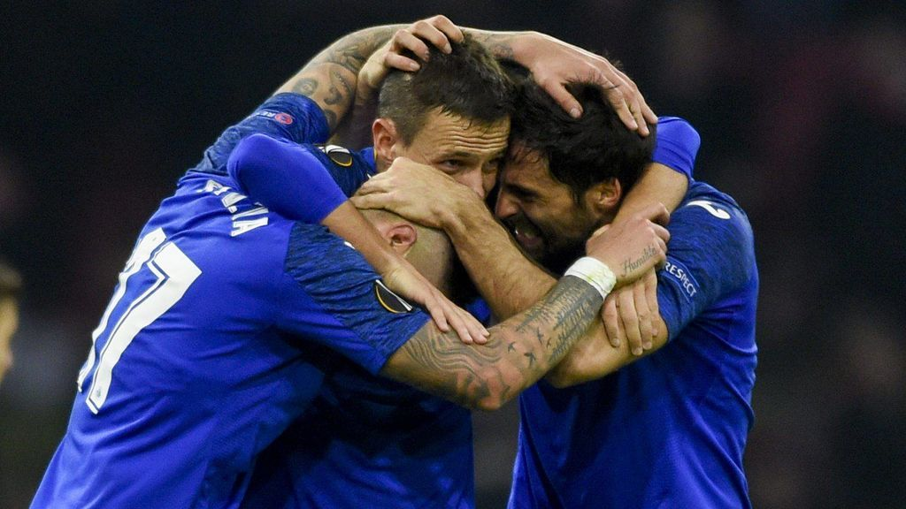 Inter - Getafe y Sevilla - Roma en cuartos de final de la Europa League