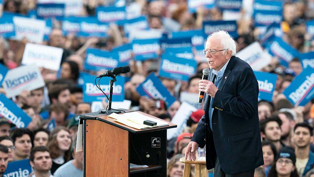Supermartes: todos contra Bernie Sanders, el abuelo que seduce a los jóvenes