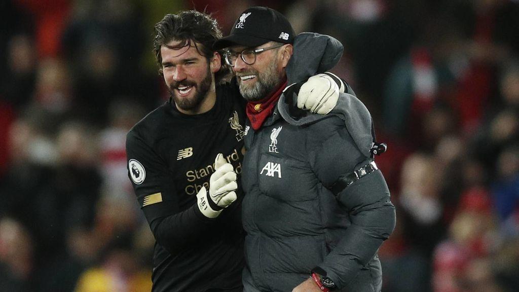 El Liverpool de Klopp, sin garantías de ganar la Premier en caso de que se suspenda por el coronavirus