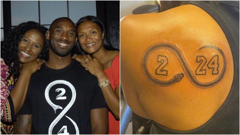 La hermana de Kobe Bryant se tatúa en recuerdo al exescolta de los Lakers y su hija Gigi