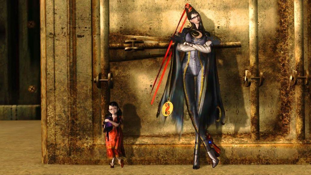 Cereza y Bayonetta