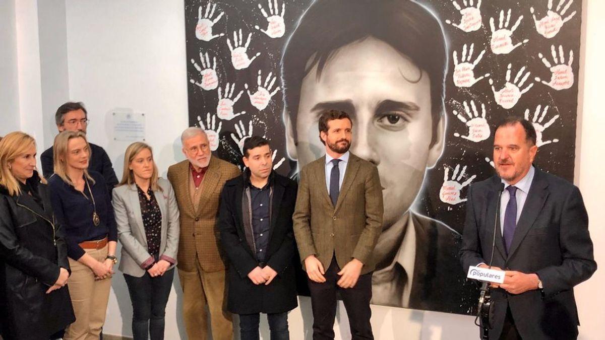Casado e Iturgaiz ensayan en Ermua  la estratragía electoral del PP para las autónomicas vascas.