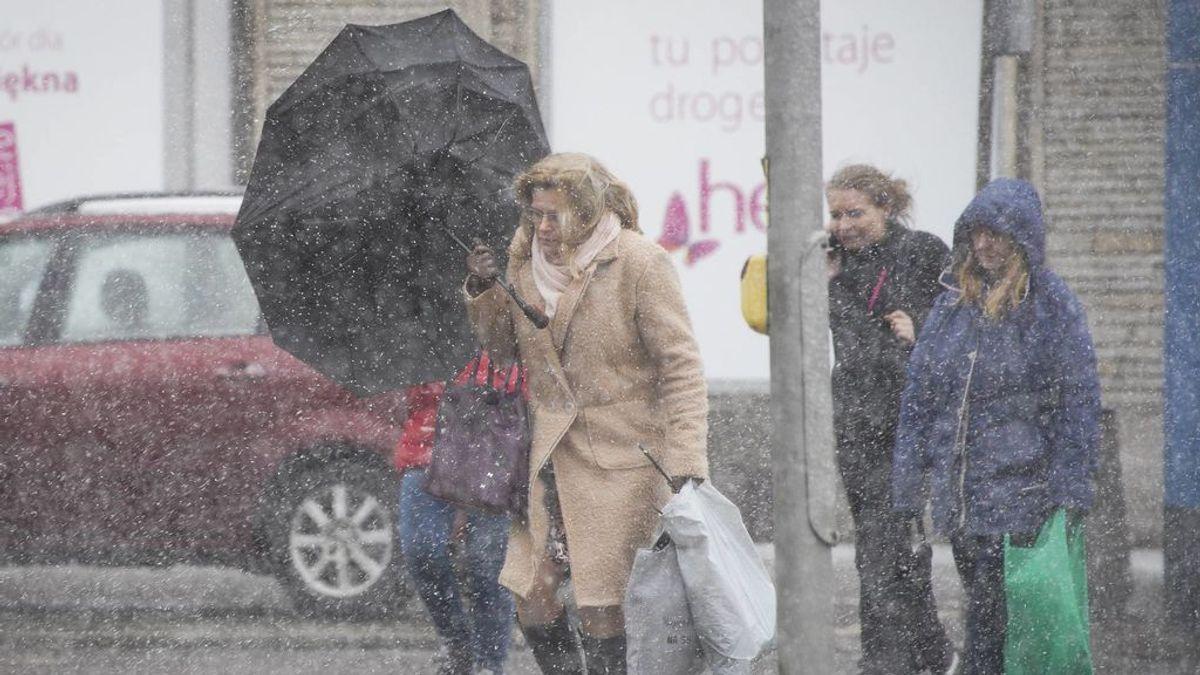 El temporal se intensifica el lunes: la semana empieza con tiempo muy desapacible