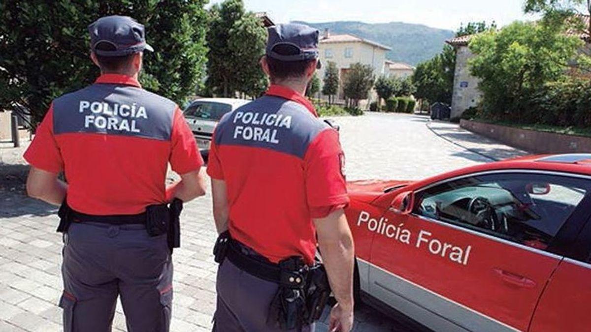 Detienen a un conductor que había dado positivo en drogas y huía de la Policía Foral