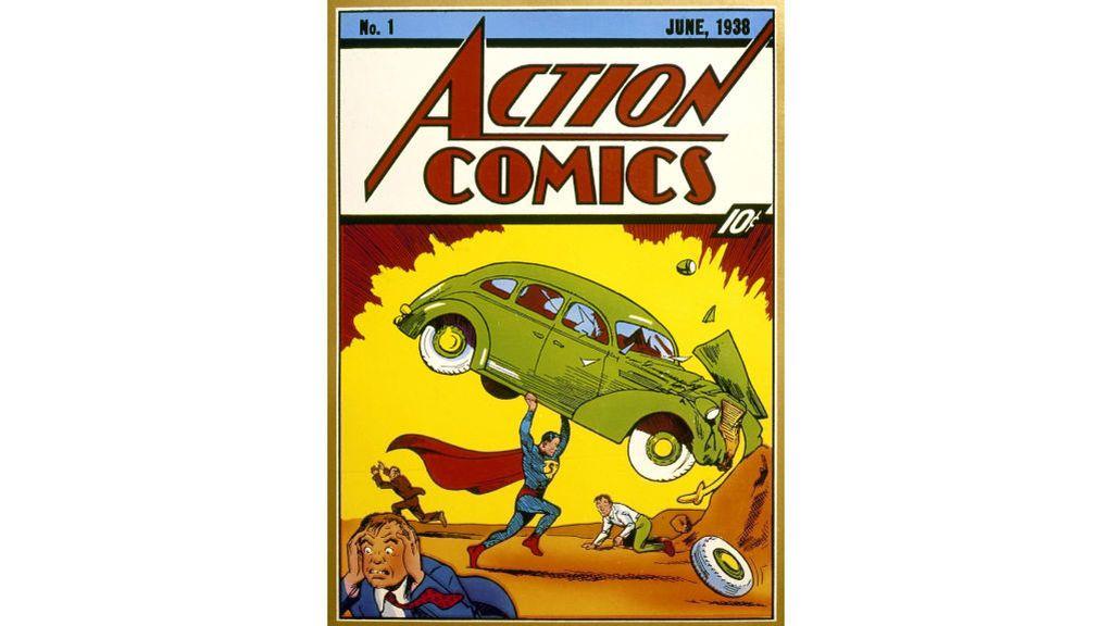 Primer comic de Superman