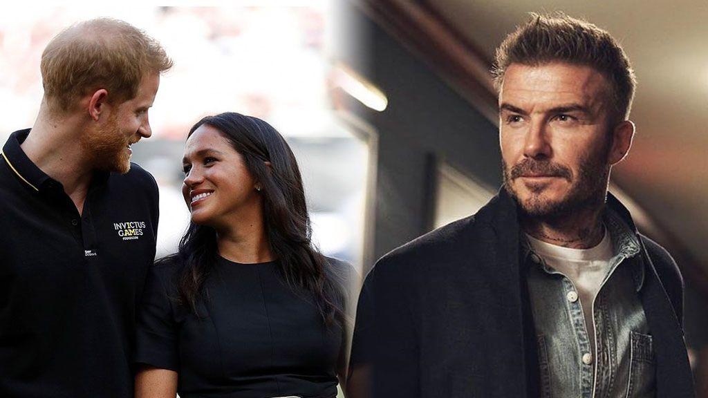 """David Beckham se pronuncia sobre la nueva vida del príncipe Harry: """"Me hace sentir orgulloso"""""""