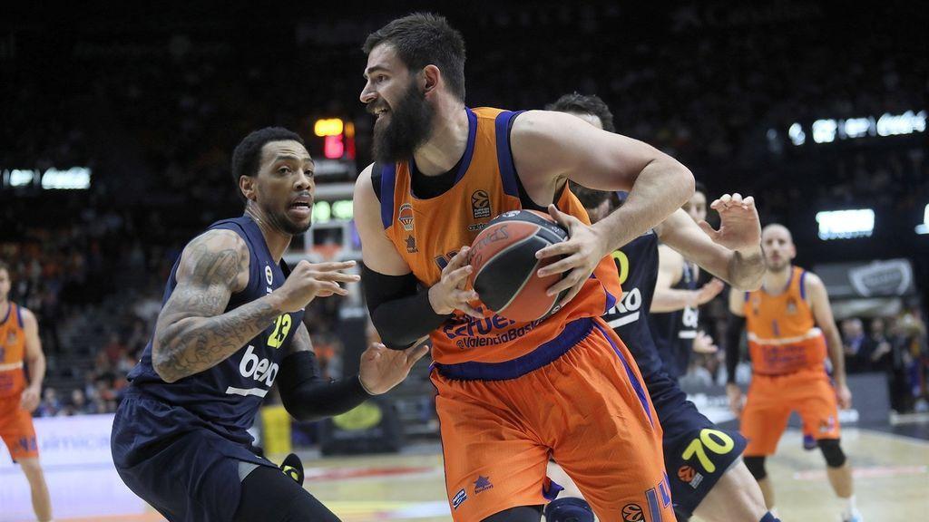 El Valencia Basket tropieza ante el Fenerbahçe en una lucha directa por el play off (86-93)