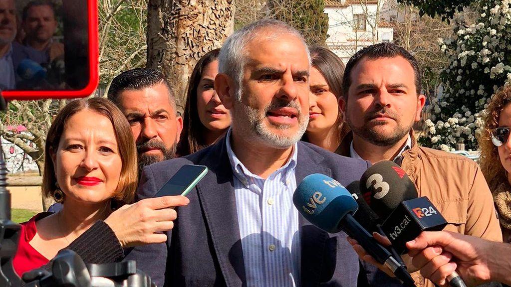 """Ciudadanos pide una reforma  de las euroórdenes para que Puigdemont no pueda seguir """"campando por Europa"""""""