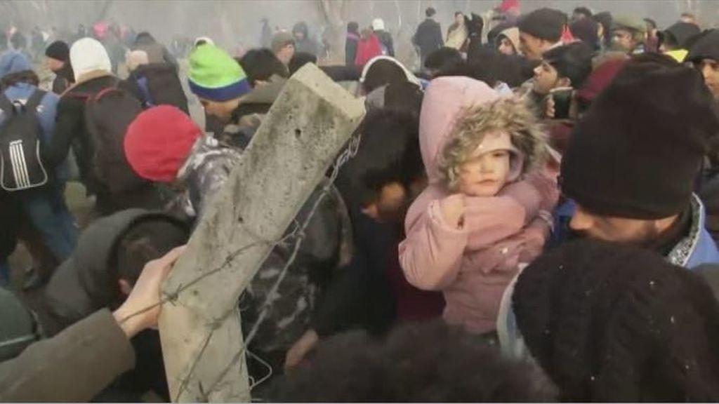 Erdogan abre las fronteras a los refugiados sirios que quieren entrar en Europa