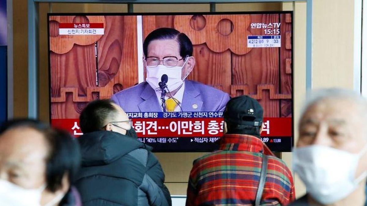 Coronavirus en Corea del Sur: el líder de una secta se enfrenta a cargos por homicidio por la propagación del brote