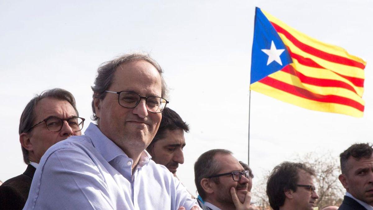"""Quim Torra: """"No soy el presidente que va a renunciar al derecho a la autodeterminación"""""""