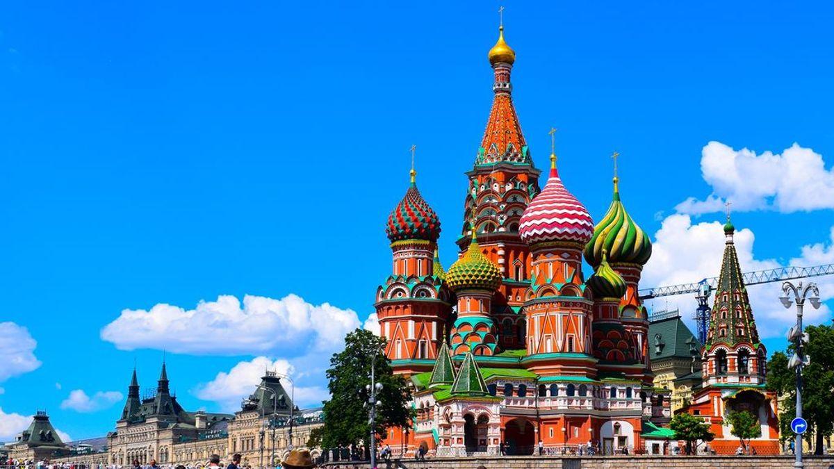 Moscú vive su invierno más cálido: atrás queda la tradicional estampa nevada de la capital rusa