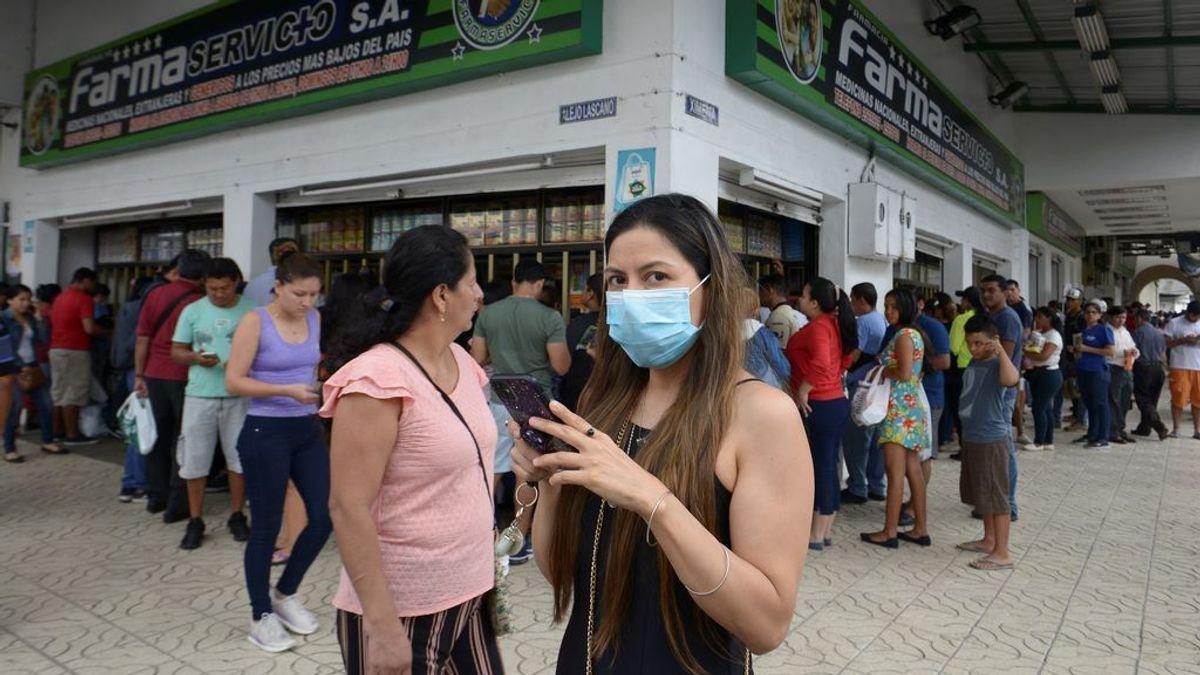 Ecuador eleva a seis los casos de coronavirus al contagiar una mujer a su familia tras llegar de España