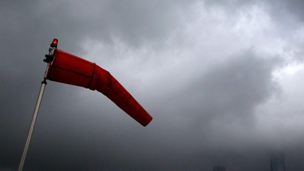 Aviso naranja por el viento: las rachas superarán los 130 km/h