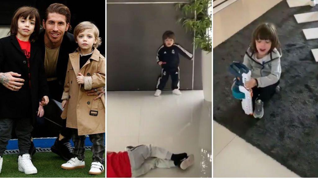El secreto de Sergio Ramos para ganar El Clásico: cantar el himno del Real Madrid con sus hijos antes del partido