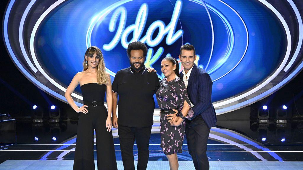 Edurne, Carlos Jean, Isabel Pantoja y Jesús Vázquez