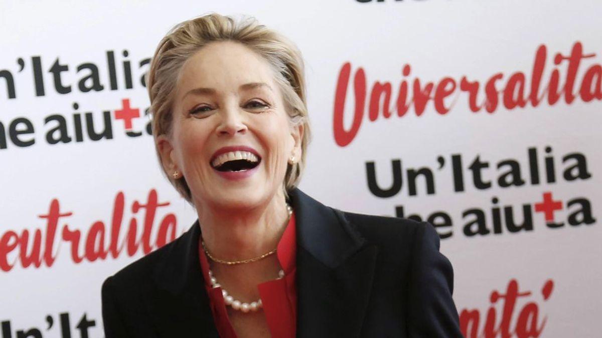 """Sharon Stone o el fin del prejuicio de ligar por apps pasados los 50:  """"Busco cuidados y amor, como cuaquiera"""""""