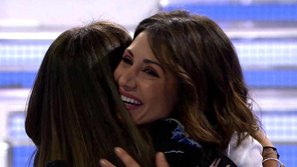 """Violeta se emociona con Nagore: """"Queremos darte las gracias por lo maravillosa que ha sido esta experiencia contigo"""""""