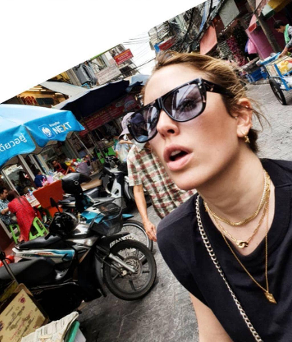 Blanca Suárez, por las calles de Bangkok