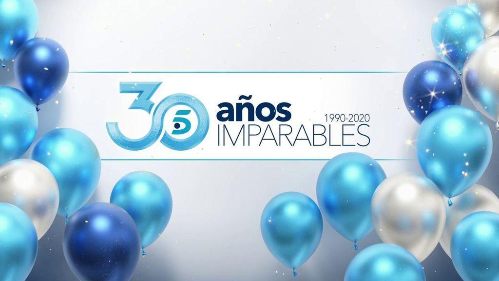 Telecinco celebra 30 años