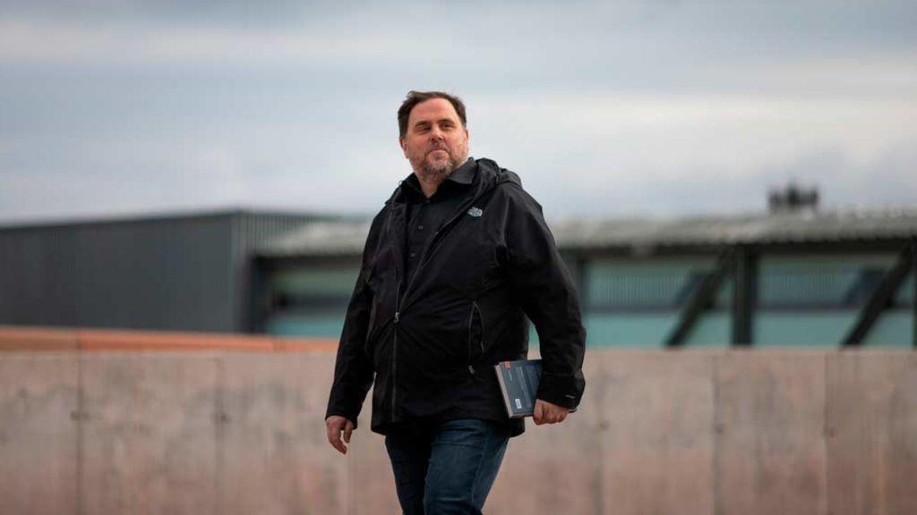 Oriol Junqueras sale de prisión por primera vez para ir a dar clases a la Universidad de Vic